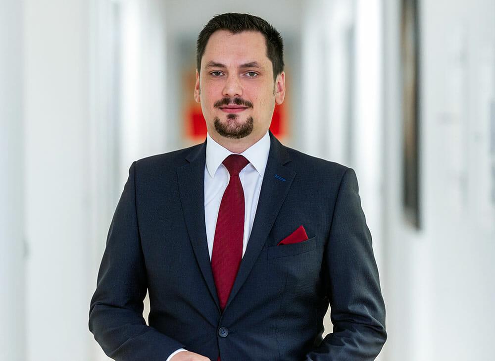 Neuer Partner André Krause